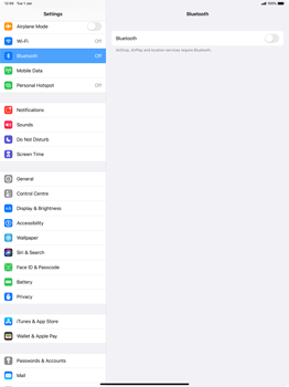 Apple iPad Pro 12.9 (2nd gen) - iPadOS 13 - Bluetooth - Connecting devices - Step 6