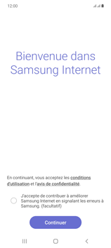 Samsung Galaxy Note20 - Internet et connexion - Naviguer sur internet - Étape 5