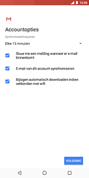 Nokia 7 Plus - E-mail - Handmatig instellen (outlook) - Stap 10