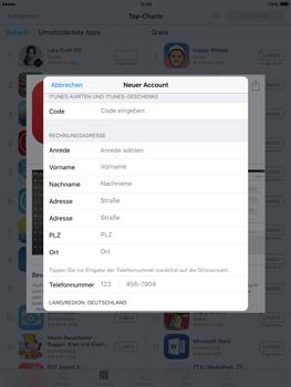 Apple iPad Air 2 - Apps - Konto anlegen und einrichten - 28 / 35
