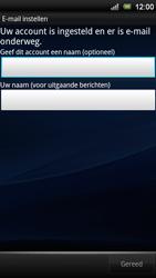 Sony Ericsson ST18i Xperia Ray - E-mail - handmatig instellen - Stap 10