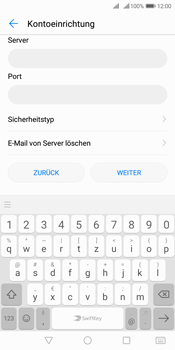 Huawei Y7 (2018) - E-Mail - Manuelle Konfiguration - Schritt 11