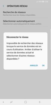 Samsung Galaxy Note9 - Réseau - Sélection manuelle du réseau - Étape 8