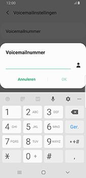 Samsung galaxy-s8-sm-g950f-android-pie - Voicemail - Handmatig instellen - Stap 10