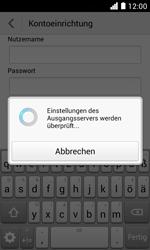 Huawei Ascend Y330 - E-Mail - Konto einrichten - Schritt 18