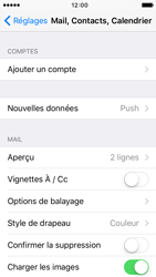 Apple iPhone 5s iOS 9 - E-mail - configuration manuelle - Étape 8