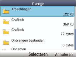 Nokia Asha 201 - E-mail - hoe te versturen - Stap 15