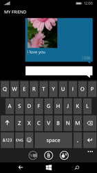 Microsoft Lumia 535 - MMS - Sending pictures - Step 13