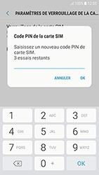 Samsung Galaxy J3 (2017) - Sécuriser votre mobile - Personnaliser le code PIN de votre carte SIM - Étape 9