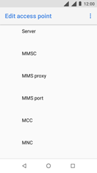 Nokia 1 - MMS - Manual configuration - Step 11