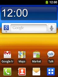 Samsung Galaxy Y - Internet und Datenroaming - Deaktivieren von Datenroaming - Schritt 1