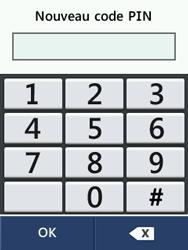 LG T580 - Sécuriser votre mobile - Personnaliser le code PIN de votre carte SIM - Étape 11