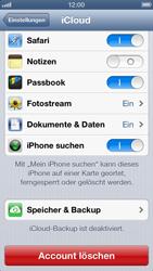 Apple iPhone 5 - Apps - Konfigurieren des Apple iCloud-Dienstes - Schritt 9