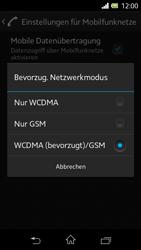 Sony Xperia L - Netzwerk - Netzwerkeinstellungen ändern - 0 / 0