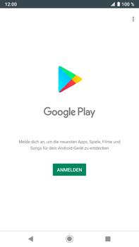 Sony Xperia XZ2 Premium - Android Pie - Apps - Konto anlegen und einrichten - Schritt 4