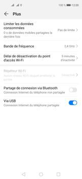 Huawei Nova 5T - Internet et connexion - Utiliser le mode modem par USB - Étape 9