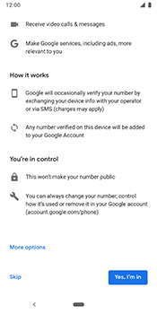 Google Pixel 3 - Email - 032a. Email wizard - Gmail - Step 10