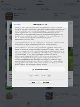 Apple iPad 4th generation (Retina) met iOS 7 - Applicaties - Account aanmaken - Stap 10