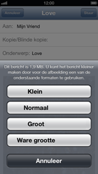 Apple iPhone 5 - E-mail - E-mails verzenden - Stap 11
