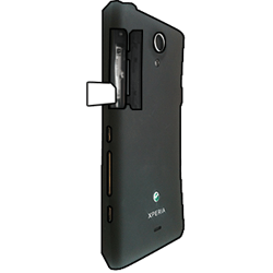 Sony Xperia T - SIM-Karte - Einlegen - Schritt 3