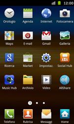 Samsung Galaxy S Advance - Applicazioni - Configurazione del negozio applicazioni - Fase 3