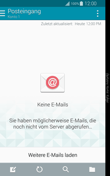 Samsung Galaxy Note Edge - E-Mail - Manuelle Konfiguration - Schritt 4