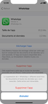 Apple iPhone 11 Pro - Applications - Supprimer une application - Étape 7