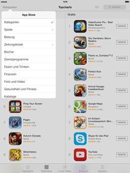 Apple iPad 4 mit iOS 7 - Apps - Herunterladen - Schritt 6