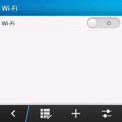 BlackBerry Q10 - WiFi - Configuration du WiFi - Étape 6