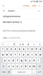 Samsung Galaxy Xcover 4 - E-mail - Sending emails - Step 17