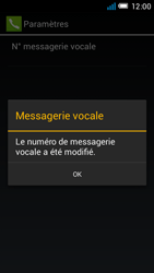 Alcatel OT-6012X Idol Mini - Messagerie vocale - Configuration manuelle - Étape 11
