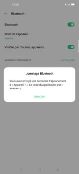 Oppo Find X2 Pro - Internet et connexion - Connexion avec un équipement multimédia via Bluetooth - Étape 8