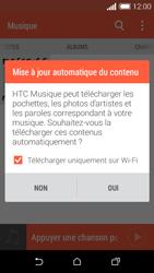 HTC Desire 510 - Photos, vidéos, musique - Ecouter de la musique - Étape 5