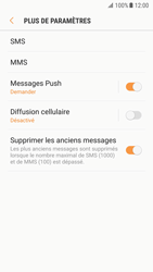 Samsung G930 Galaxy S7 - Android Nougat - SMS - Configuration manuelle - Étape 7