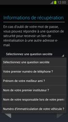 Samsung Galaxy Note 2 - Premiers pas - Créer un compte - Étape 18