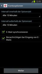 Samsung Galaxy S III - E-Mail - Manuelle Konfiguration - Schritt 14