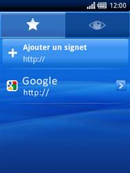 Sony Xperia X10 Mini - Internet - Navigation sur Internet - Étape 8