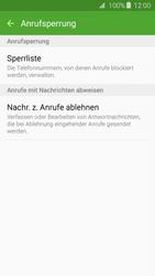 Samsung Galaxy J3 (2016) - Anrufe - Anrufe blockieren - 7 / 12