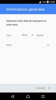 Sony Xperia Z5 Premium (E6853) - Android Nougat - Applications - Créer un compte - Étape 7