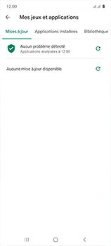 Samsung Galaxy A51 - Applications - Comment vérifier les mises à jour des applications - Étape 9