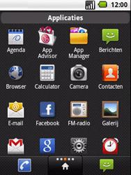 LG P350 Optimus Me - E-mail - handmatig instellen - Stap 3