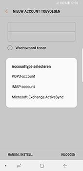 Samsung galaxy-s8-g950-android-oreo - E-mail - Account instellen (IMAP zonder SMTP-verificatie) - Stap 9