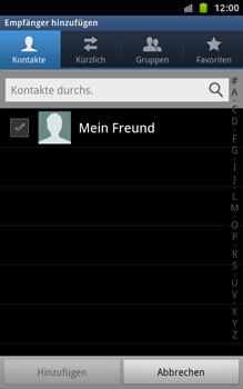 Samsung Galaxy Note - MMS - Erstellen und senden - 7 / 18