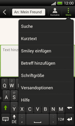 HTC One SV - MMS - Erstellen und senden - 11 / 21