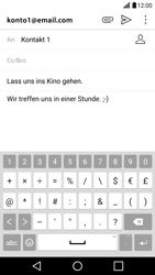 LG G5 - E-Mail - E-Mail versenden - 1 / 1