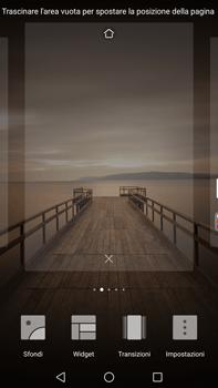 Huawei Mate 9 - Operazioni iniziali - Installazione di widget e applicazioni nella schermata iniziale - Fase 4