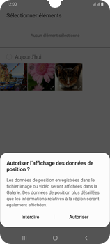Samsung Galaxy A70 - MMS - envoi d'images - Étape 16