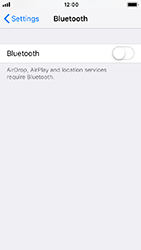 Apple iPhone 5s - iOS 12 - Bluetooth - Pair with another device - Step 4
