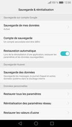 Huawei Huawei P9 - Téléphone mobile - Réinitialisation de la configuration d