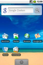 Samsung Galaxy Spica (GT-i5700) - E-mail - Hoe te versturen - Stap 1